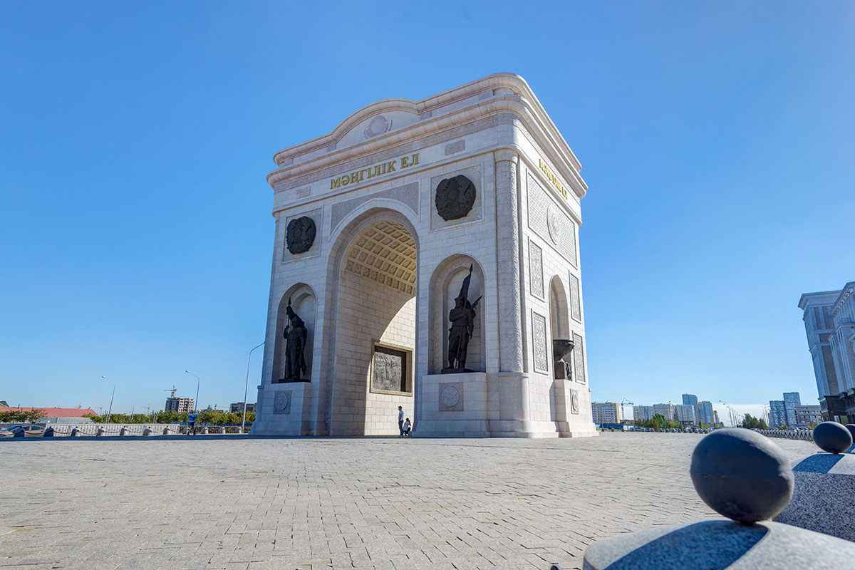 "Arch of Triumph ""Mangіlіk El"""