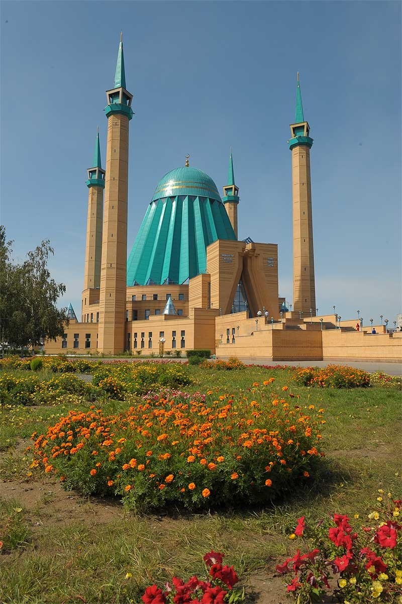 Mosque named after Mashhur Zhusup Kopeev