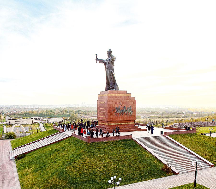 Le monument Baydibek bi