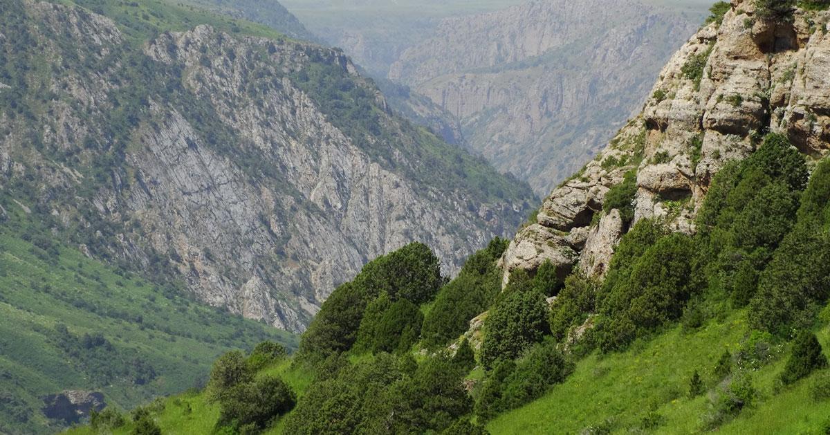 Aksu-Jabagly Nature Reserve and Koksai Canyon