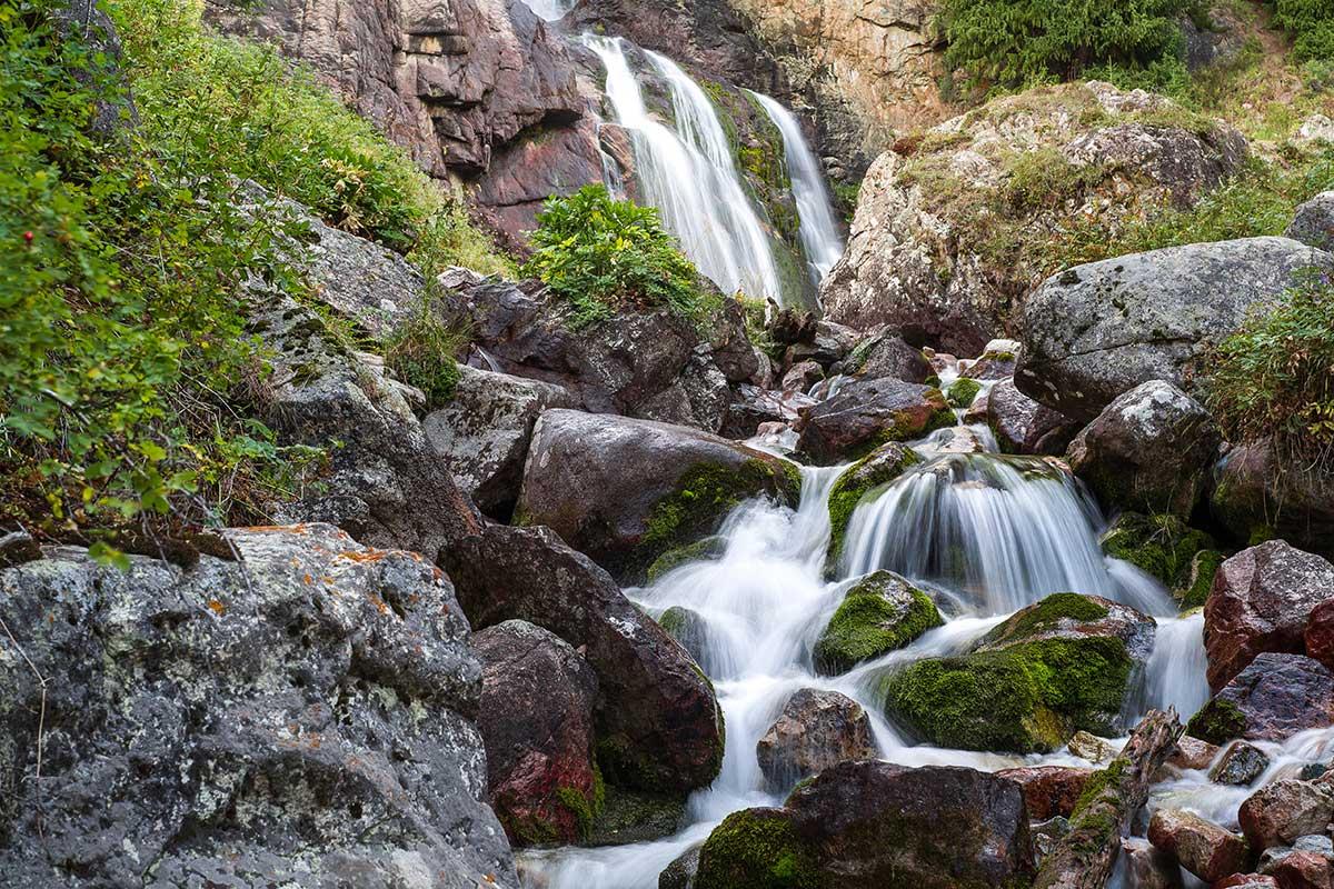 Burhan Bulak Waterfall