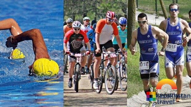 Amateur triathlon