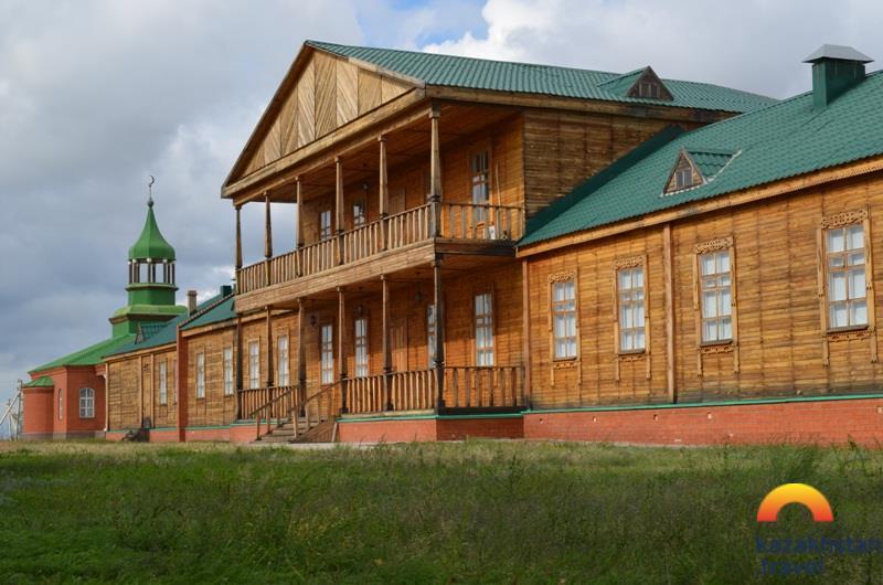 """Le complexe du musée historique """" la Horde Bukeev """""""