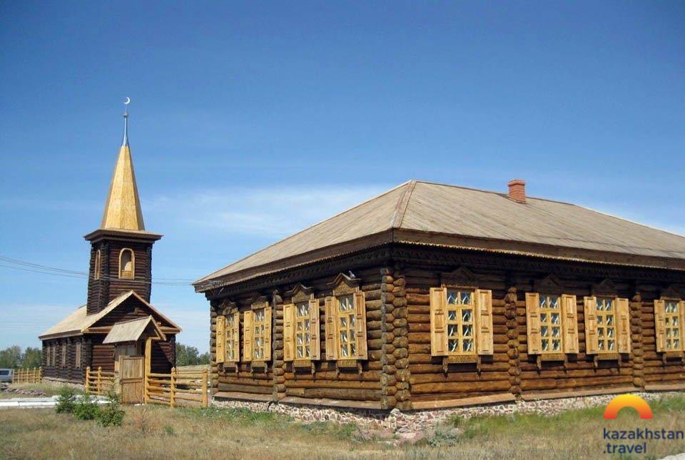 "Le musée-domaine de la grand-mère de Chokan Ualihanov — "" Ayganim """