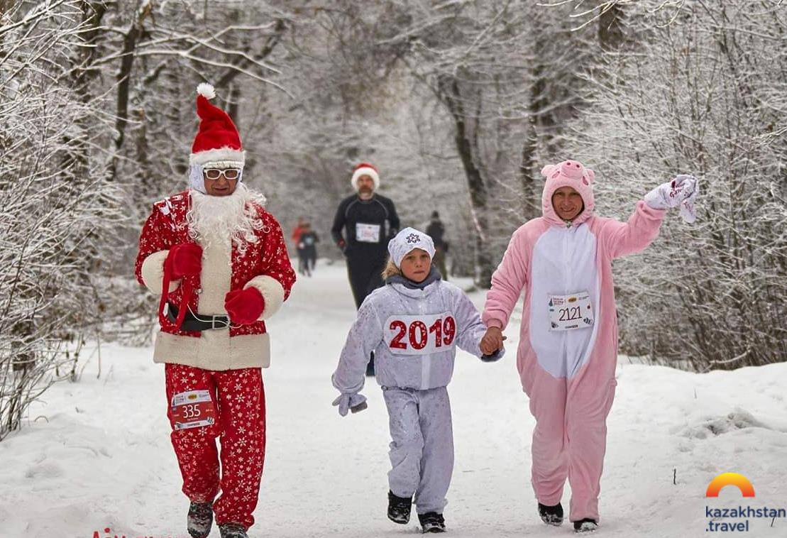 Almaty New Year marathon