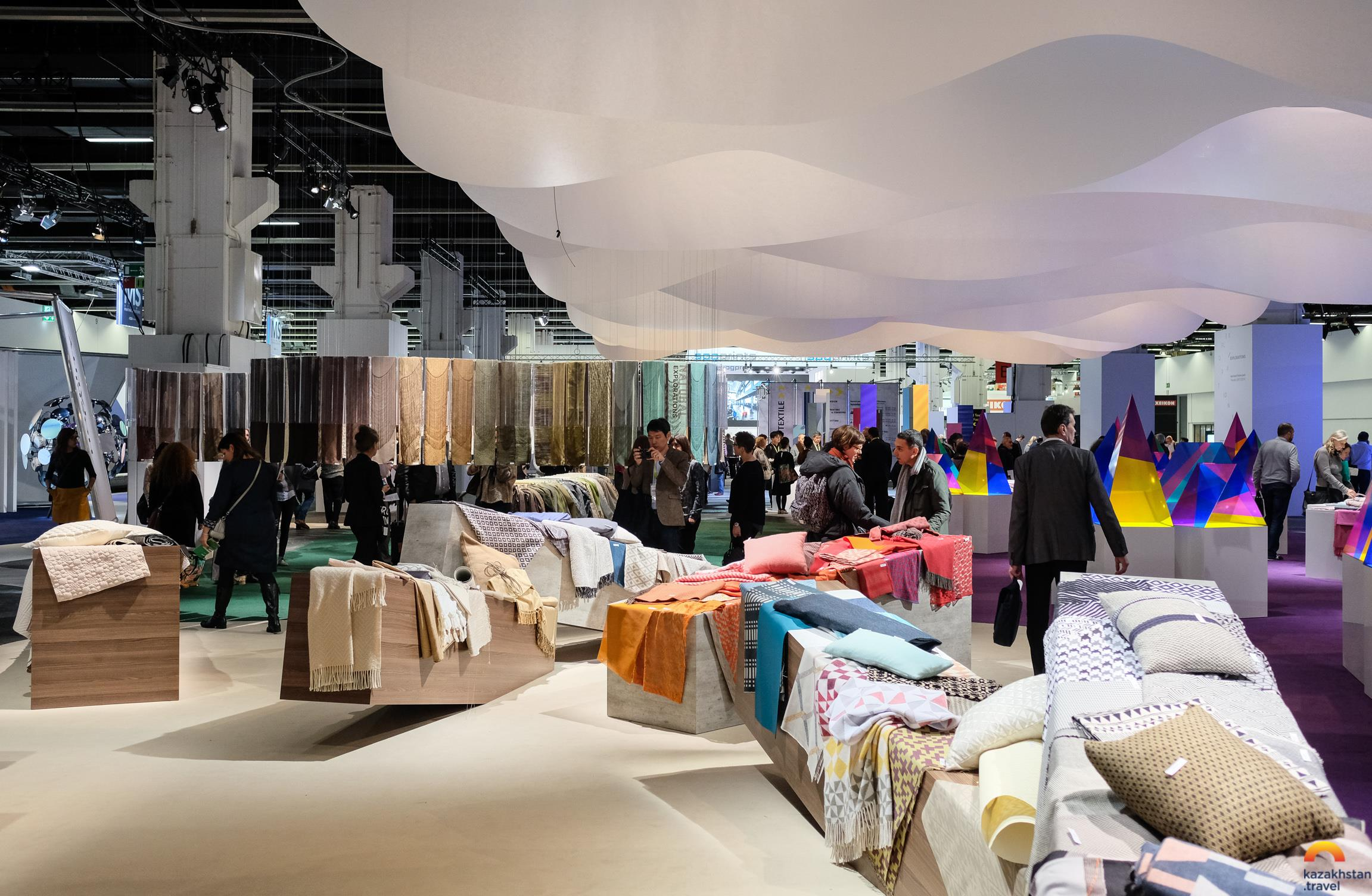 """International Exhibition Homedeco Kazakhstan 2020 home textiles, interior items, souvenirs and glass products"""