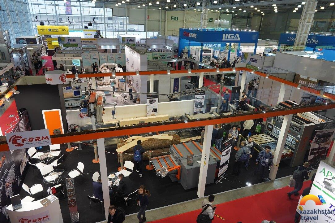 International Exhibition Furniture. Interior. Woodworking 2020 furniture and woodworking