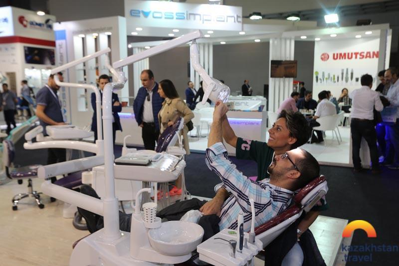 Международная специализированная KazDentExpo 2020 стоматологическая выставка