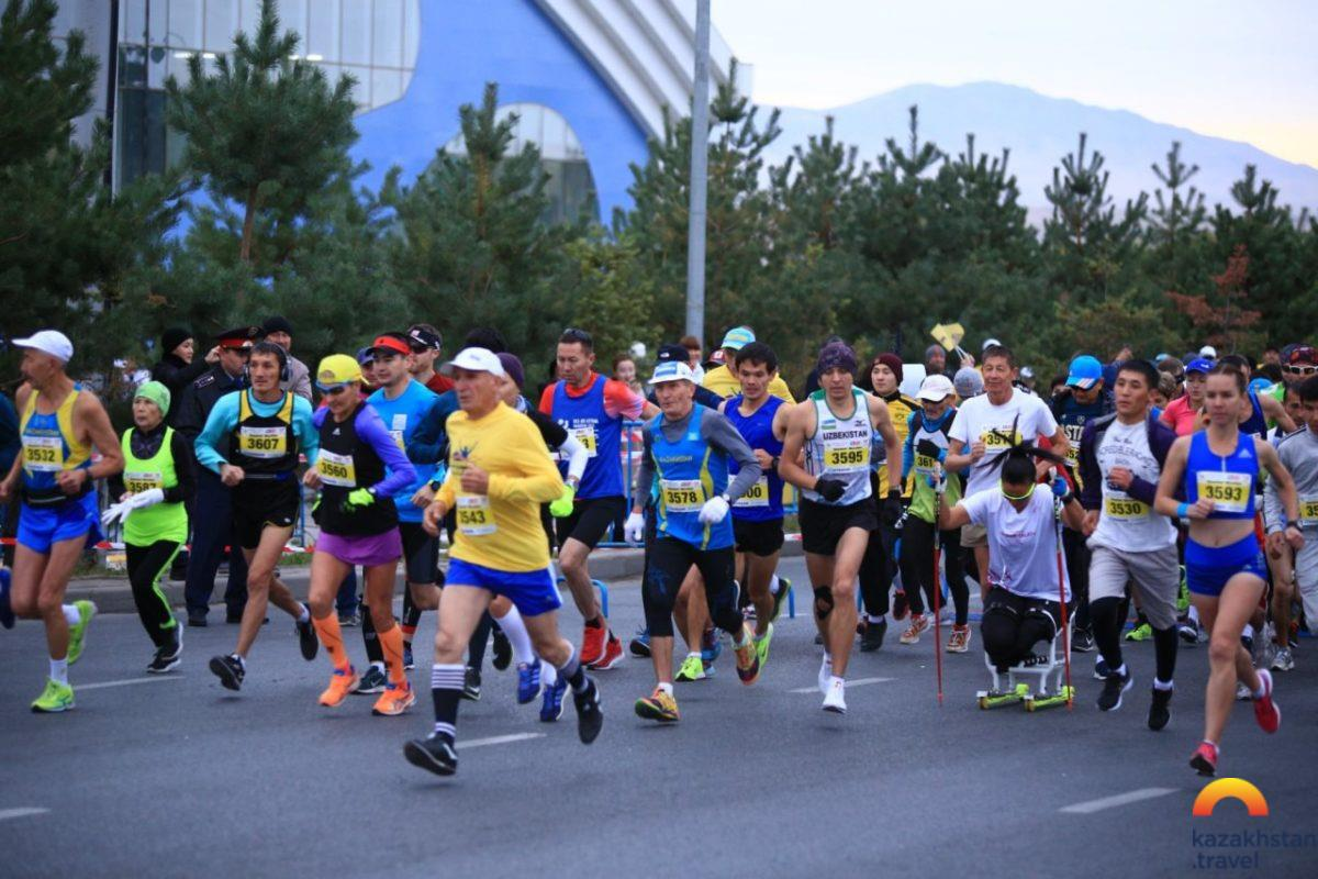 Shymkent Marathon 2020