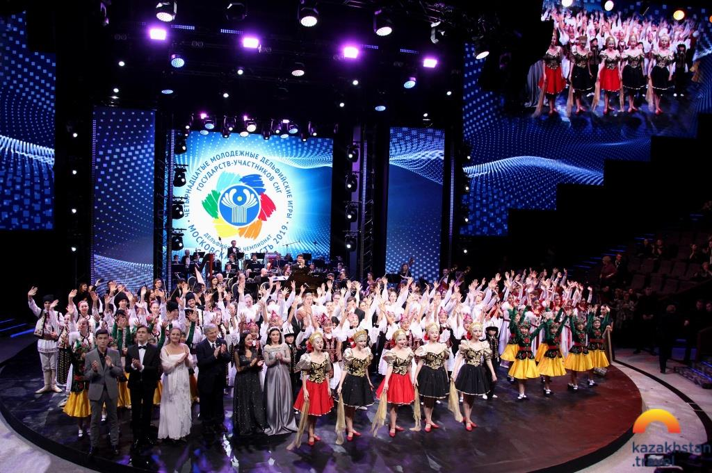 "Official closing of the event ""Shymkent - the cultural capital of the CIS"""
