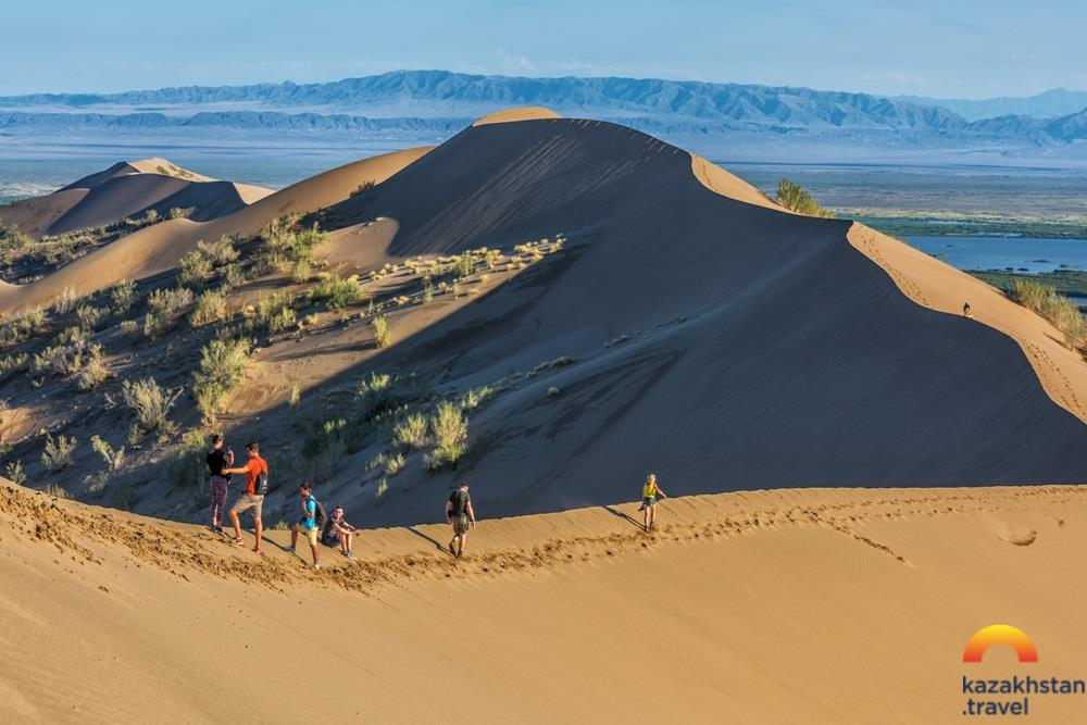"""The Singing Dune"" in Altyn-Emel National Park"