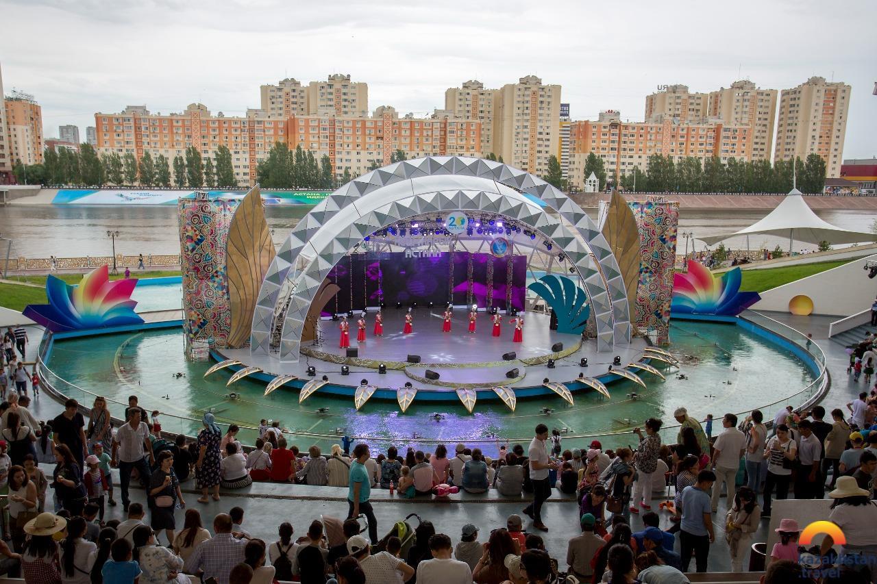 Central Park of Nur-Sultan